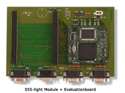 555-light, Module and Evulationboard